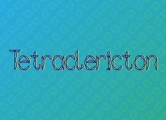 Tetraclericton Font