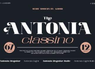 The Antonia Font