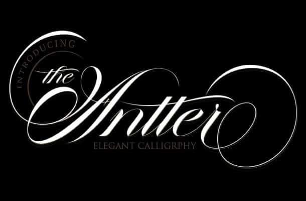 The Antter Script Font
