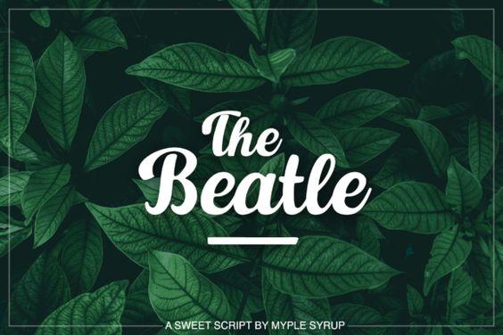 The Beatle Font