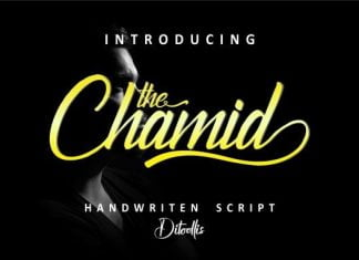 The Chamid Font