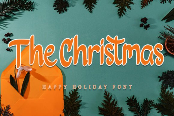 The Christmas Font