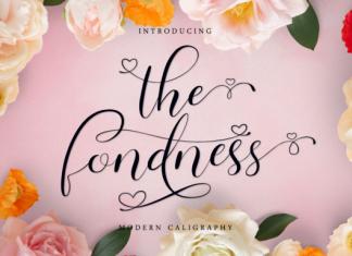 The Fondness Font