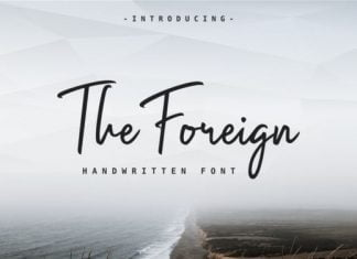 The Foreign Font