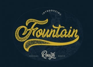 The Fountain Font