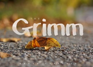 The Grimm Font