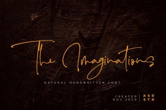 The Imaginations Font