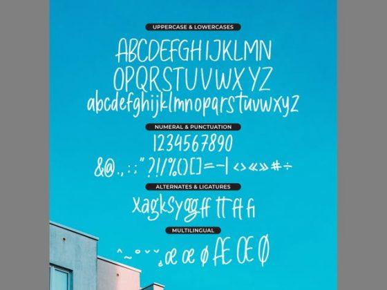 The Maggers - Handwritten Sans Font