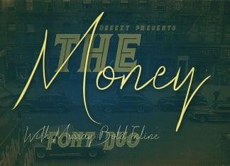 The Money Font