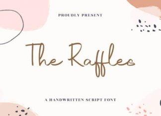 The Raffles Font
