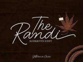 The Randi Font