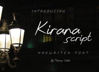 Kirana Script Font