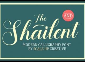 The Shailent Font