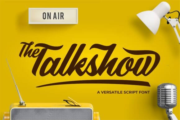 The Talkshow Font