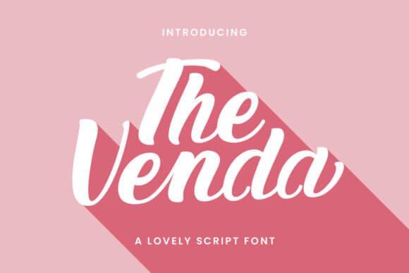 The Venda Font