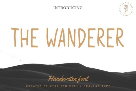 The Wanderer Font