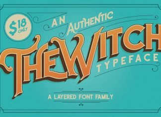 The Witch Typeface Font
