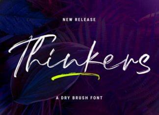 Thinkers Font