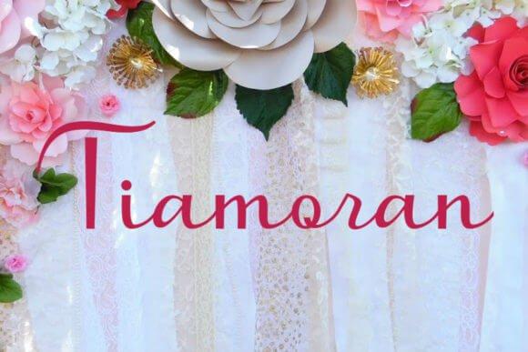 Tiamoran Font