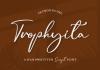Trophyita Font