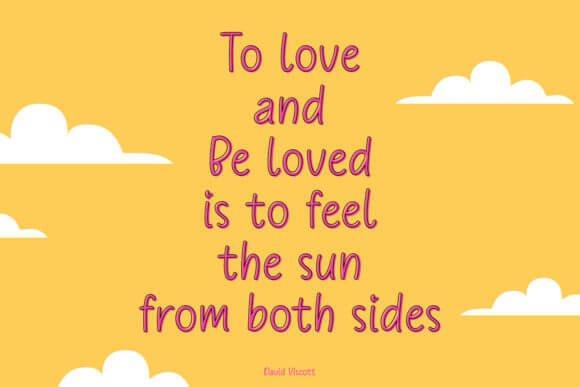 Trostie Love Font