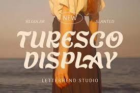 Turesco - Display Font