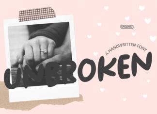 Unbroken Font