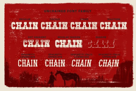 Unchained Font