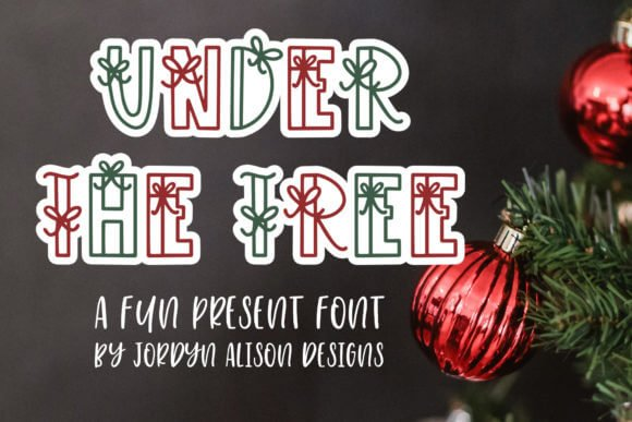 Under the Tree Font