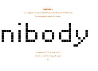 Unibody Pro Font