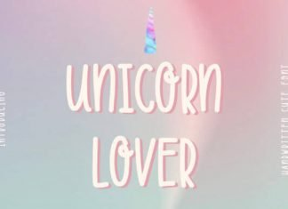 Unicorn Lover Font