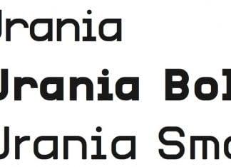 Urania CF Font