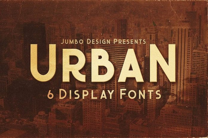 Urban Display Style Font