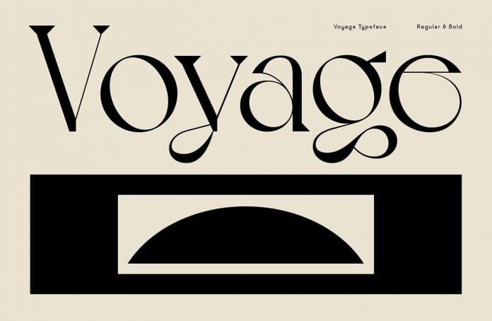 VJ Voyage Font