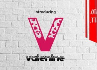 Valenine Font
