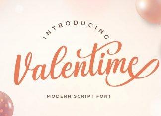 Valentime Cute Script Font
