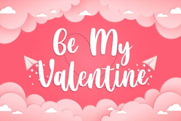 Valentine Blooms Font