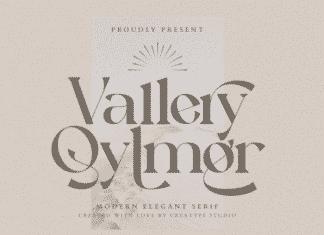 Vallery Qylmor Modern Business Font
