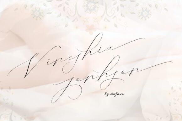 Vaneshia Jonhson Font