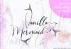 Vanilla Mermaid Beautiful Script Font