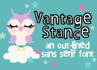 Vantage Stance Font
