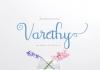 Varethy Font