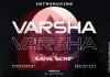 Varsha Font
