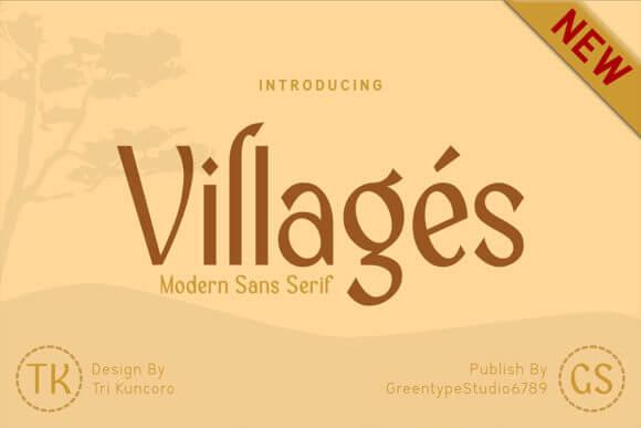 Villages Font