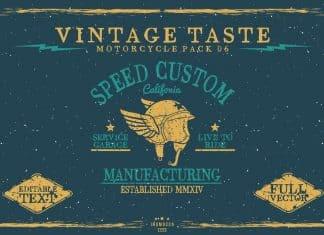 Vintage Taste Motorcycle