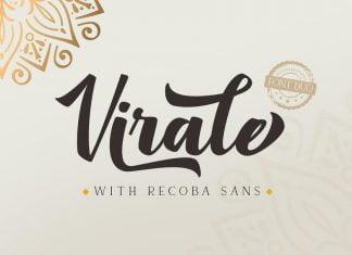 Virale Recoba Font Duo