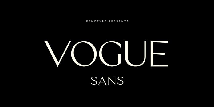 Vogue Sans Font Family