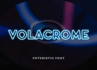 Volacrome Sans Serif Display Font
