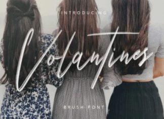 Volantines Font