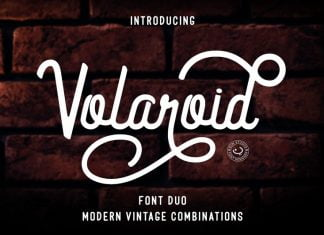Volaroid Font